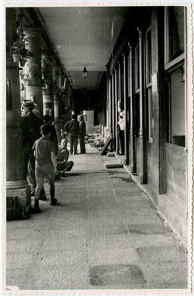 MMH-413-Obras de urbanización de la plaza de Zocodover_1961 - Fot Flores