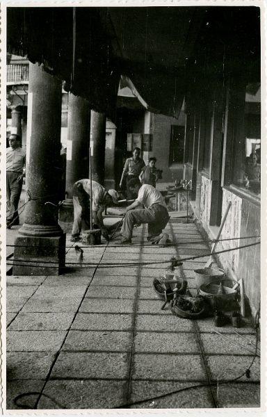 MMH-414-Obras de urbanización de la plaza de Zocodover_1961 - Fot Flores