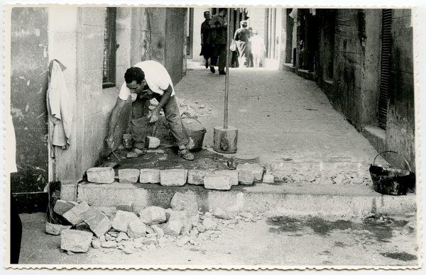 MMH-425-Obras de urbanización de la plaza de Zocodover_1961 - Fot Flores