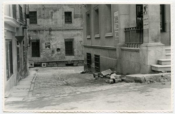 MMH-430-Obras de urbanización de la plaza de Zocodover_1961 - Fot Flores