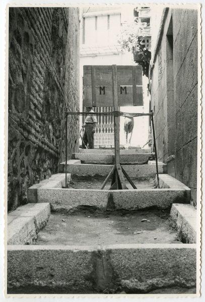 MMH-466-Obras de urbanización en la cuesta del Águila_1961 - Fot Flores