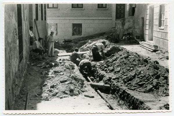 MMH-470-Obras de urbanización en el Corral de la Campana_1961 - Fot Flores