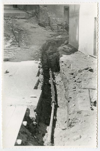 MMH-471-Obras de urbanización en el Corral de la Campana_1961 - Fot Flores