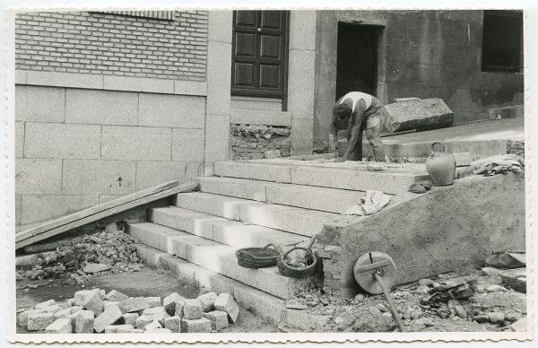 MMH-475-Obras de urbanización en el Corral de la Campana_1961 - Fot Flores