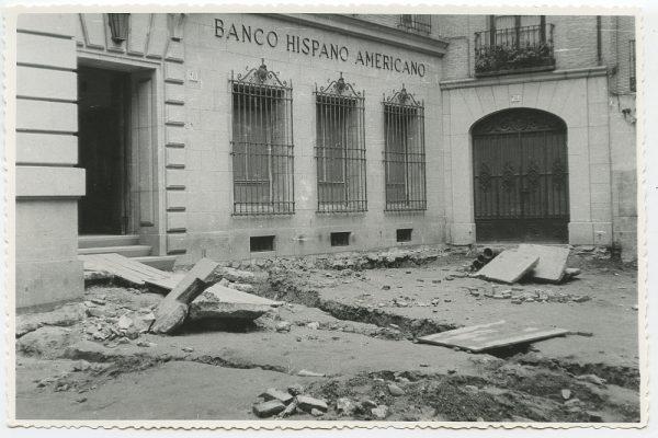 MMH-501-Obras de urbanización en la calle Nueva_1961 - Fot Flores