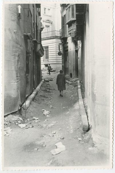 MMH-507-Obras de urbanización en la calle Nueva_1961 - Fot Flores