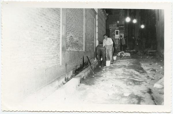 MMH-510-Obras de urbanización en la calle Nueva_1961 - Fot Flores