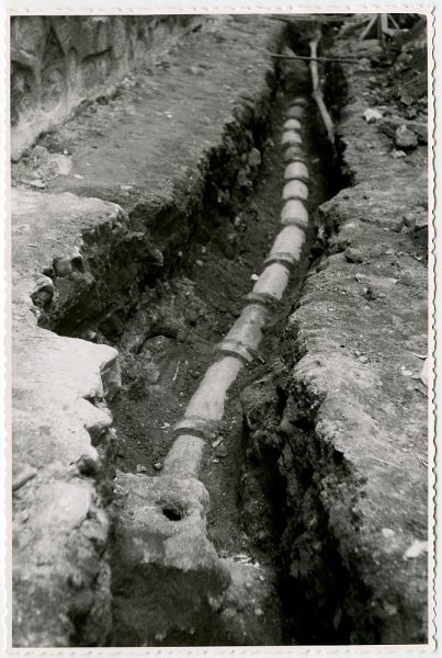 MMH-540-Obras de urbanización en la calle de Aljibes_1962 - Fot Flores