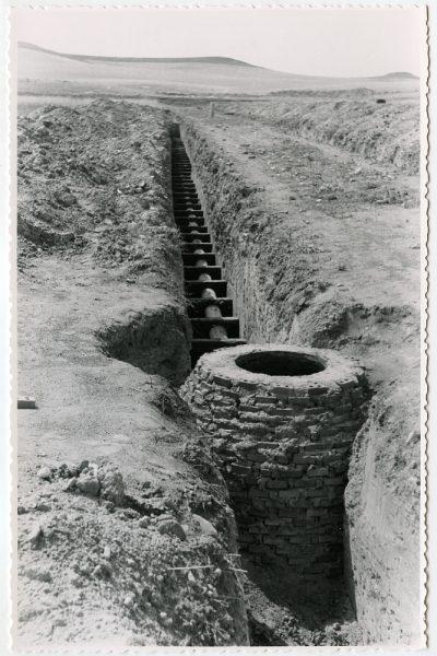 MMH-572-Obras de abastecimiento de agua en paraje desconocido_ca 1963 - Fot Flores