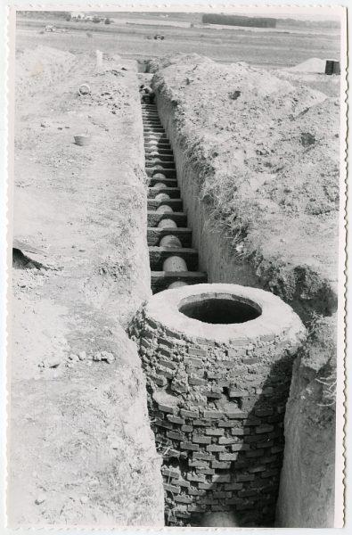 MMH-573-Obras de abastecimiento de agua en paraje desconocido_ca 1963 - Fot Flores