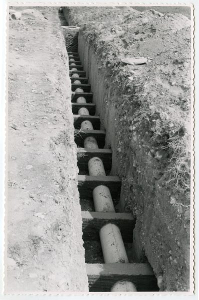 MMH-574-Obras de abastecimiento de agua en paraje desconocido_ca 1963 - Fot Flores