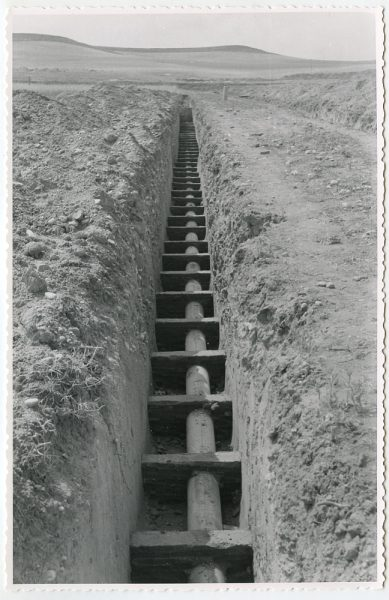 MMH-575-Obras de abastecimiento de agua en paraje desconocido_ca 1963 - Fot Flores