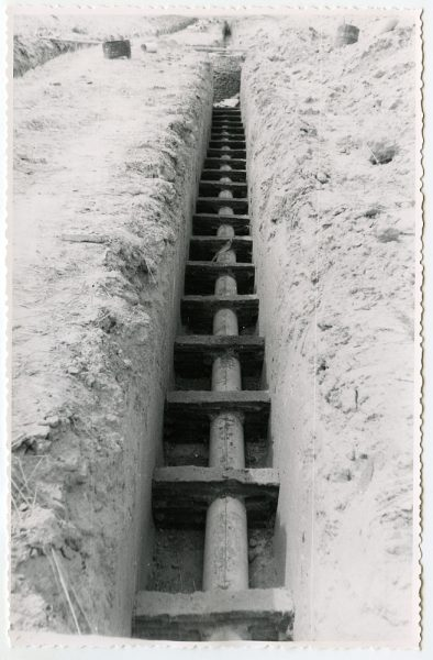 MMH-578-Obras de abastecimiento de agua en paraje desconocido_ca 1963 - Fot Flores