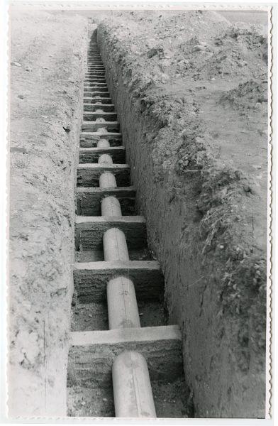 MMH-581-Obras de abastecimiento de agua en paraje desconocido_ca 1963 - Fot Flores