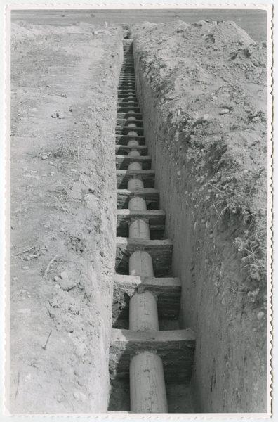 MMH-582-Obras de abastecimiento de agua en paraje desconocido_ca 1963 - Fot Flores