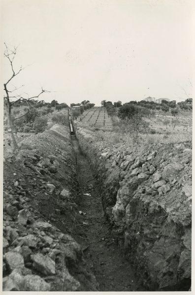 MMH-588-Obras de abastecimiento de agua al Polígono_ca 1967 - Fot Flores