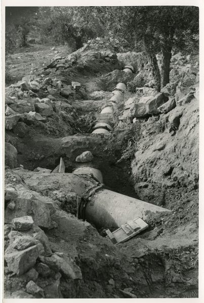 MMH-589-Obras de abastecimiento de agua al Polígono_ca 1967 - Fot Flores