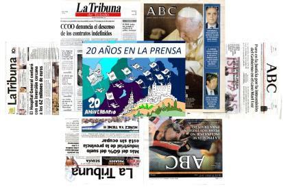 """Exposición """"20 años en la prensa"""""""