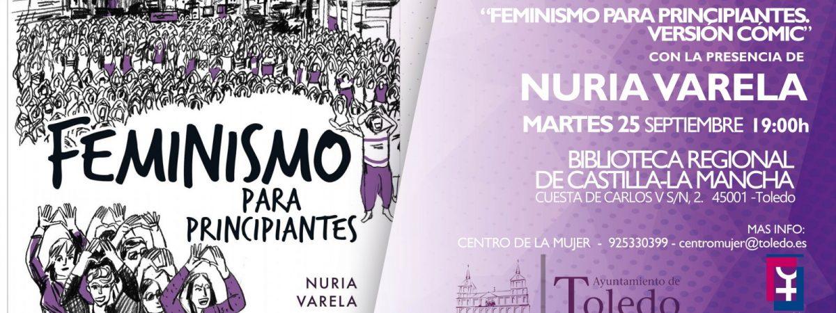 NURIA VARELA PRESENTA EN TOLEDO SU LIBRO…