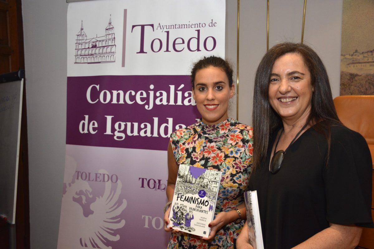 """https://www.toledo.es/wp-content/uploads/2018/09/presentacion_libro_igualdad-1200x800.jpg. La Escuela Toledana de Igualdad ofrece la presentación del último libro de Nuria Varela, """"todo un referente del movimiento feminista"""""""