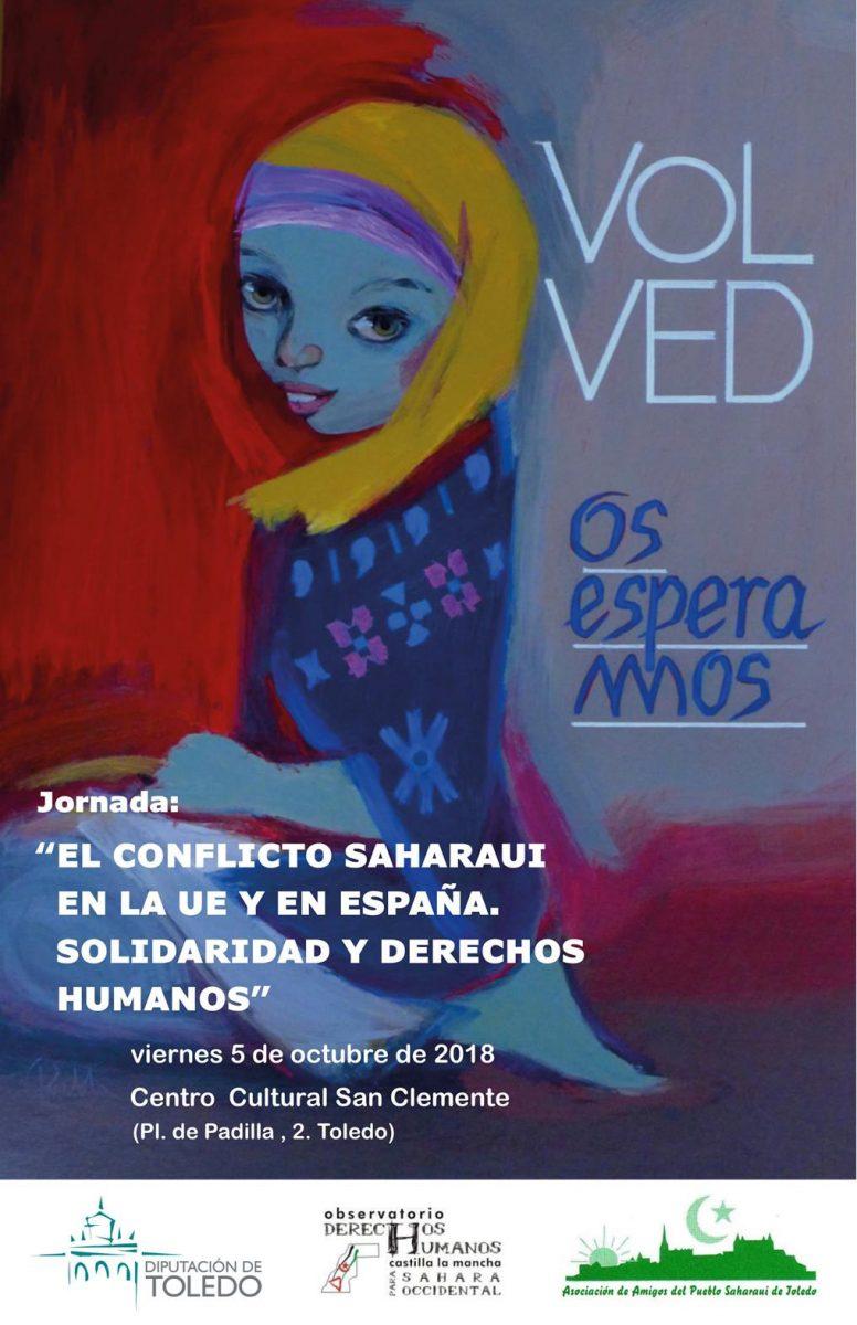 """Jornada: """"El conflicto saharaui en la Unión Europea y España. Solidaridad y Derechos Humanos"""""""