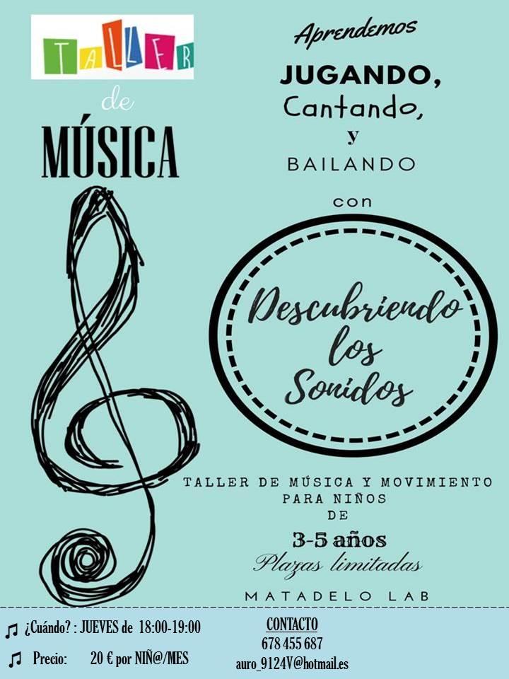 http://www.toledo.es/wp-content/uploads/2018/09/taller-de-musica.jpg. Taller de música y movimento para niños. Descubriendo los sonidos