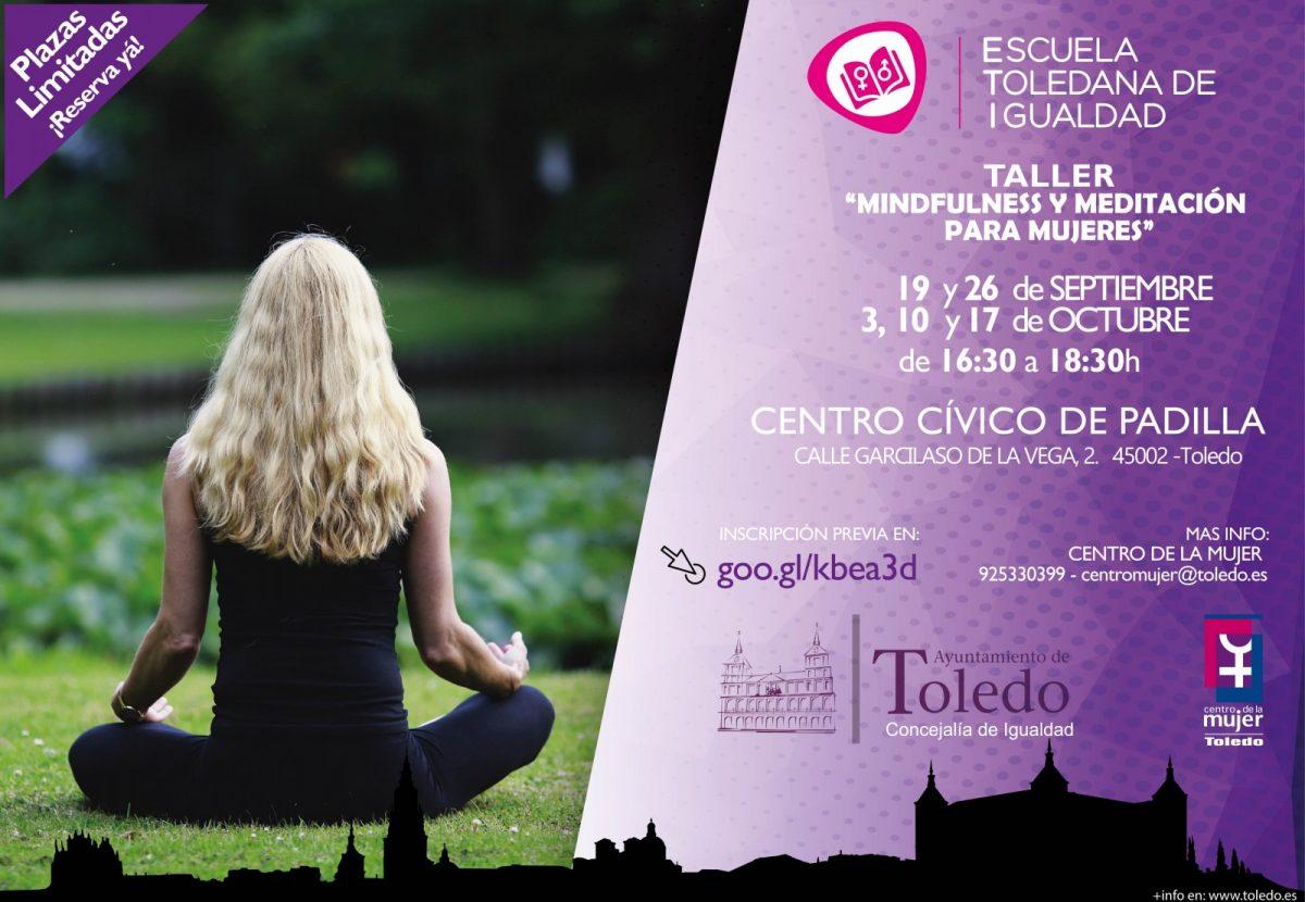 https://www.toledo.es/wp-content/uploads/2018/09/taller-minfulness-sep_-1200x830.jpg. Escuela Toledana de Igualdad (ETI): Taller Mindfulness y Meditación  para mujeres