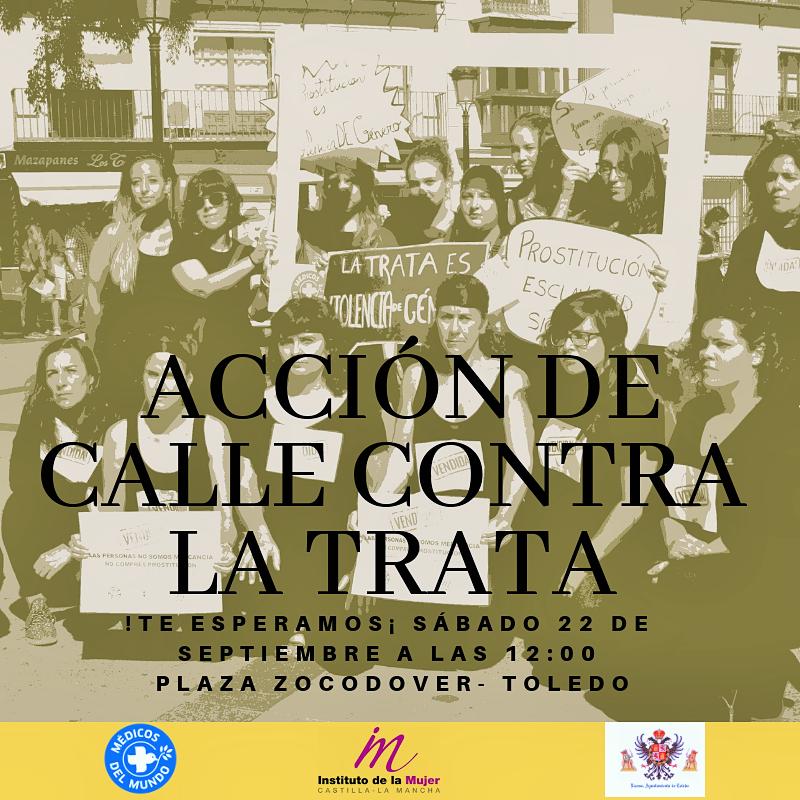 Acto de Sensibilización con  motivo del Día Internacional contra la Trata