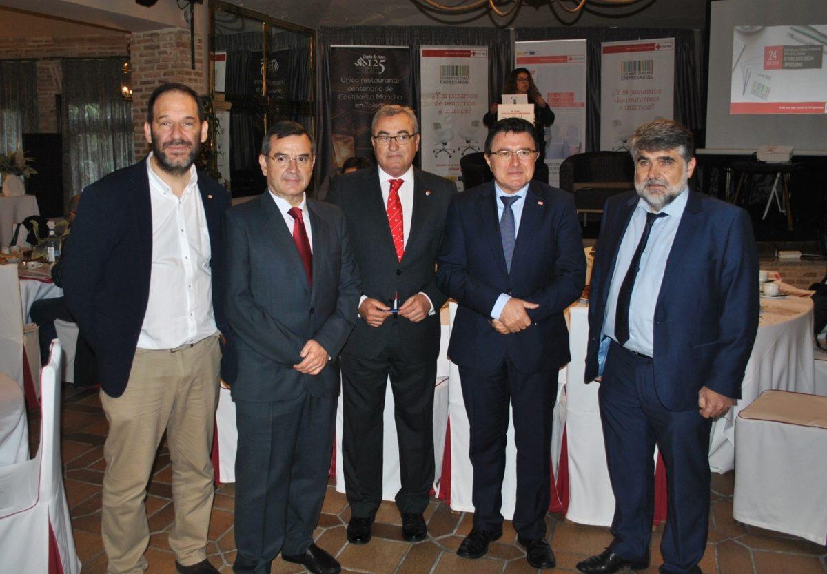 El Ayuntamiento destaca la responsabilidad social corporativa de las empresas toledanas en el Foro Social Empresarial de Cruz Roja