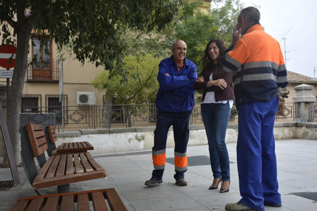 http://www.toledo.es/wp-content/uploads/2018/10/01-bancos-virgen-de-gracia-1200x800.jpg. El Ayuntamiento actúa en el mobiliario urbano del Casco Histórico y renueva 53 bancos del paseo Virgen de Gracia y del Miradero