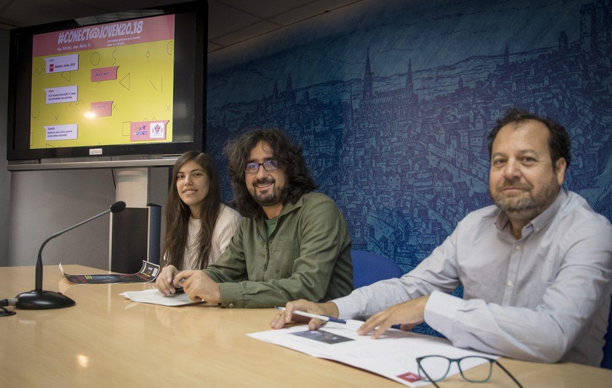 http://www.toledo.es/wp-content/uploads/2018/10/01-conecta-joven-1200x761.jpg. Teatro, terror, ciencia o música, son algunas de las propuestas del programa 'Conecta Joven 2018' que arranca el 20 de octubre