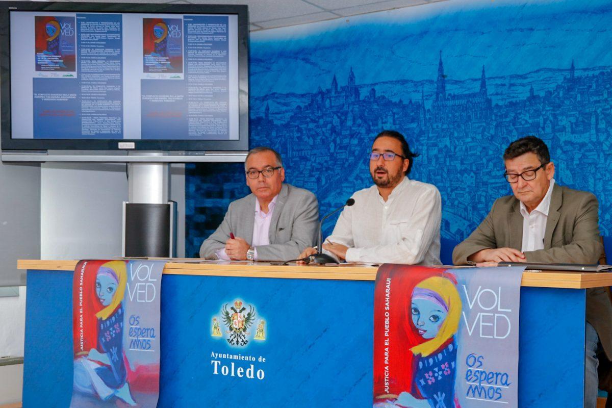 https://www.toledo.es/wp-content/uploads/2018/10/01-jornada-sahara-1200x800.jpg. Toledo acoge una jornada el próximo 5 de octubre para que los derechos del pueblo saharaui no se olviden
