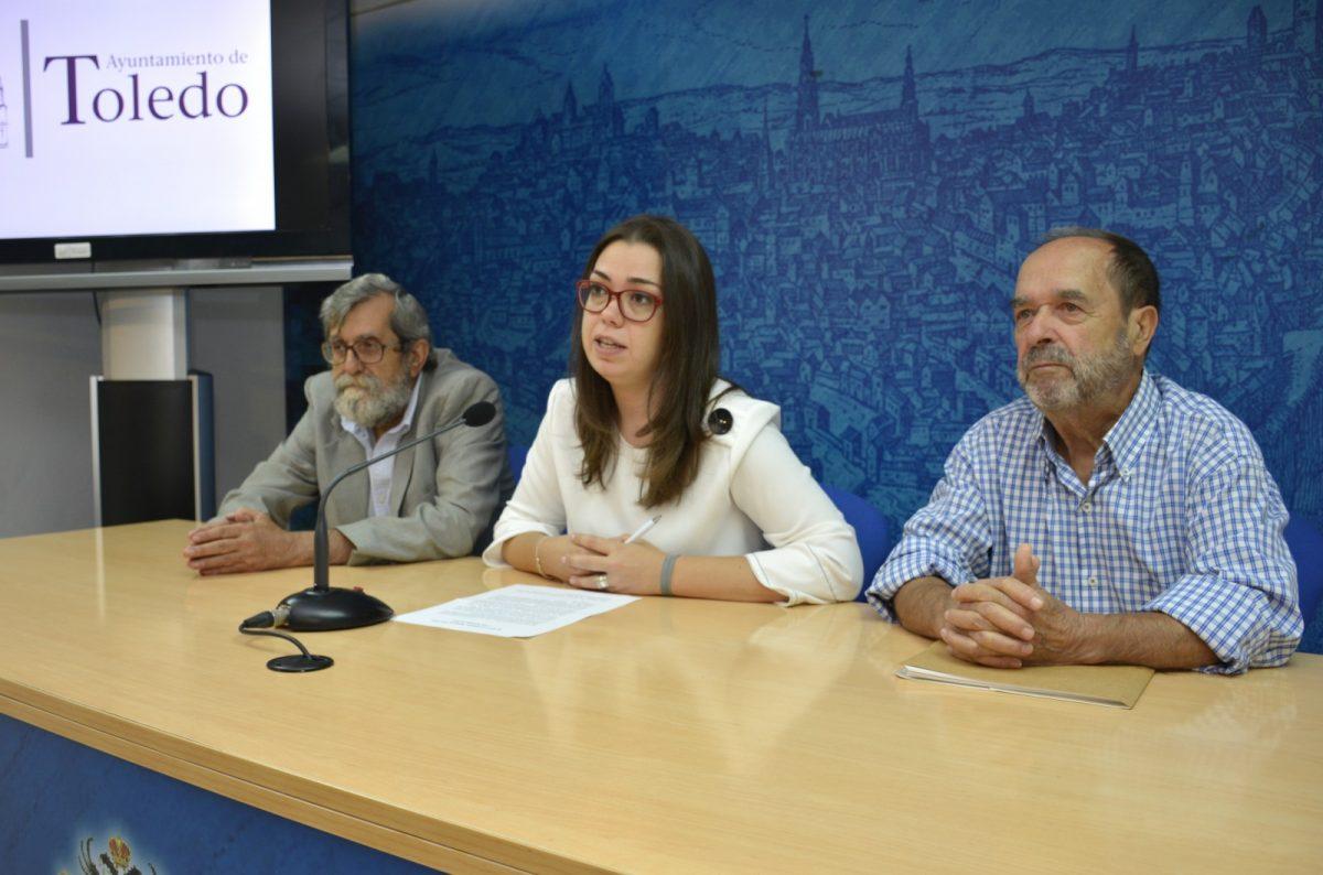 http://www.toledo.es/wp-content/uploads/2018/10/01-presentacion-bases-museo-1200x794.jpg. El Ayuntamiento y 'La Cornisa' presentan las bases para participar en el Museo de Escultura al Aire Libre en la ribera del Tajo