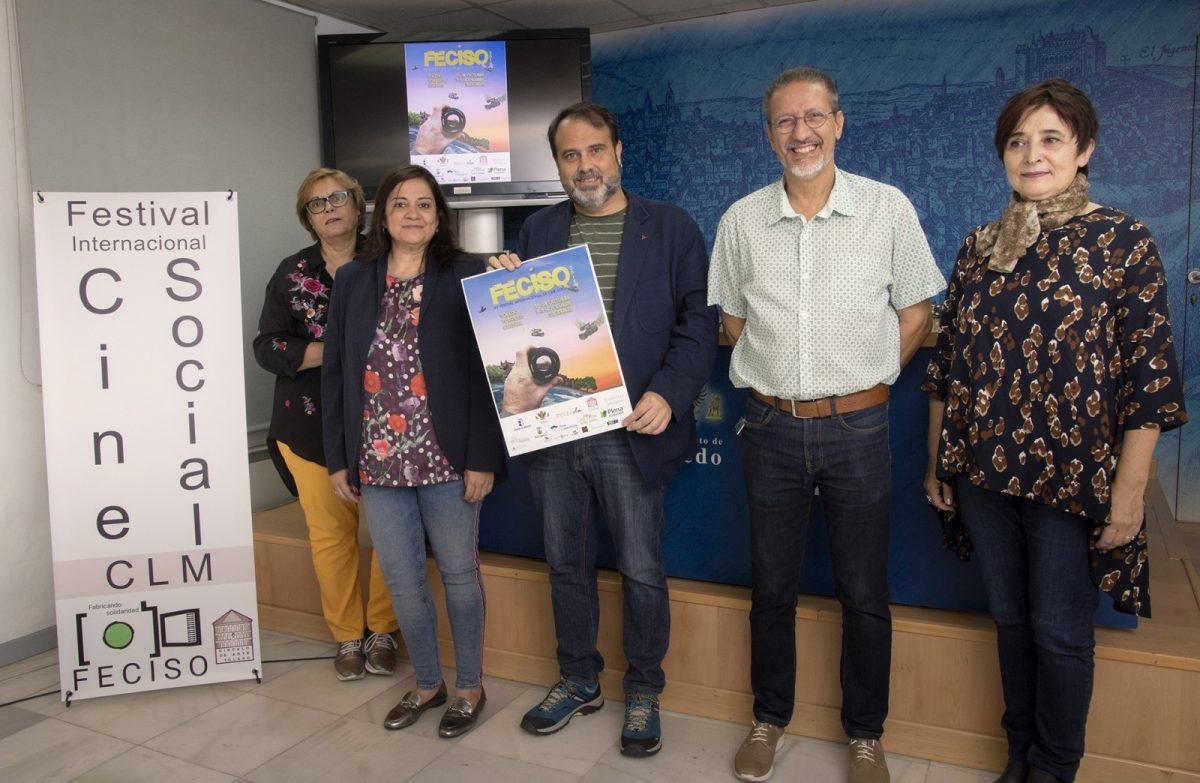 http://www.toledo.es/wp-content/uploads/2018/10/01-presentacion-feciso-1200x783.jpg. Cinco salas de la ciudad acogerán las proyecciones del Festival de Cine Social que se celebrará del 15 al 28 de octubre