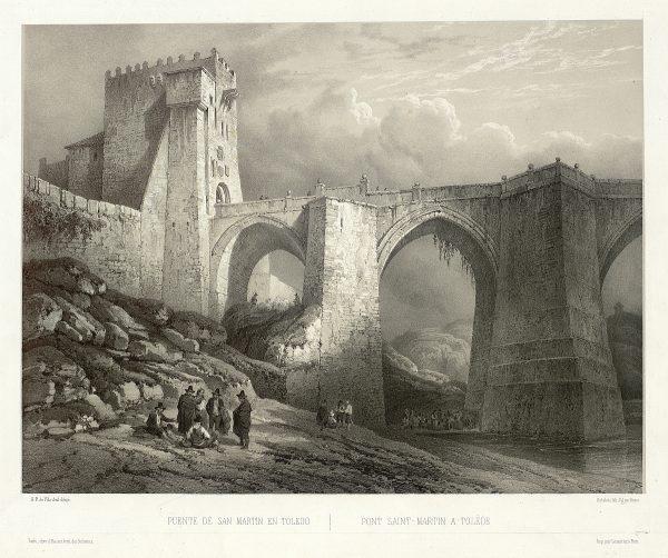 03_Puente de San Martín en Toledo