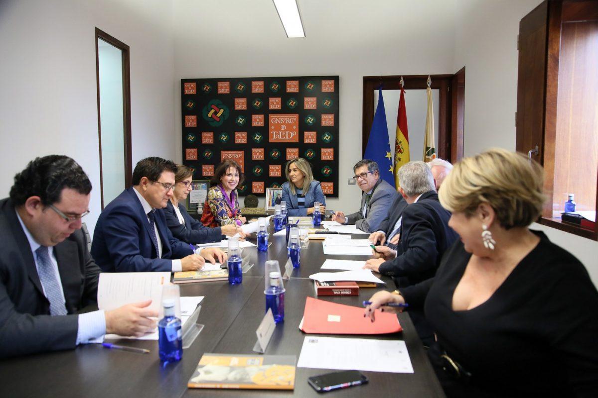 https://www.toledo.es/wp-content/uploads/2018/10/04_reunion_consorcio-1200x800.jpg. El Consorcio aprueba la propuesta de la mesa de contratación para ejecutar las obras de la nueva sala del Teatro de Rojas 'El Cafetín'