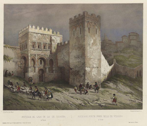 05_Antigua [puerta] al lado de la de Visagra en Toledo