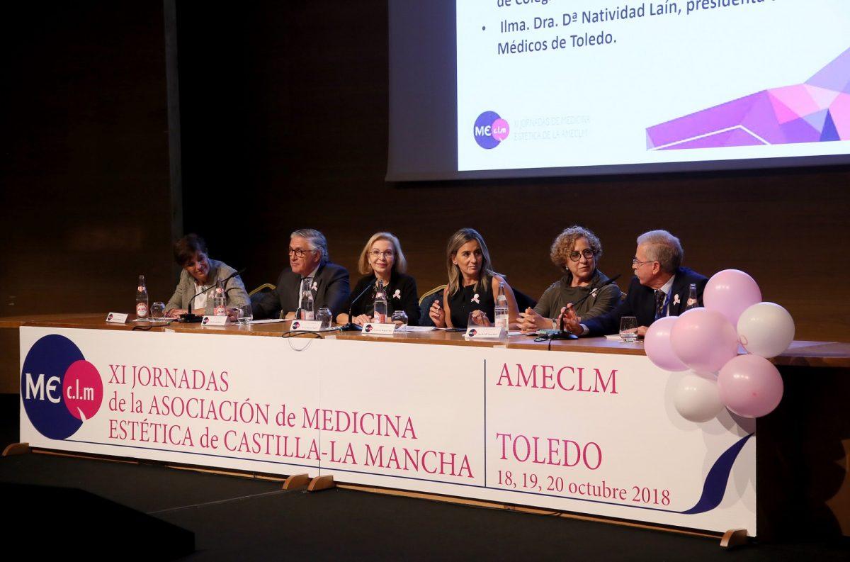 """http://www.toledo.es/wp-content/uploads/2018/10/05_jornadas_medicina_estetica-1200x793.jpg. Milagros Tolón pone en valor el trabajo de los profesionales de la Medicina Estética y sus beneficios """"físicos y psicológicos"""""""
