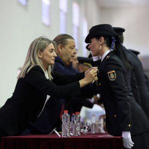 Milagros Tolón asiste al acto institucional del Día de la Policía, en el que se han entregados las condecoraciones al Mérito Policial
