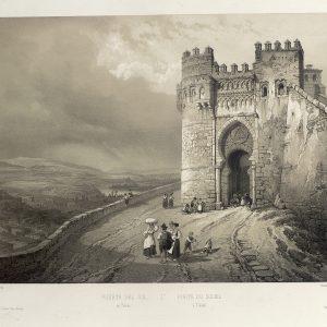 Toledo en los grabados de Genaro Pérez Villamil, nueva exposición virtual del Archivo Municipal