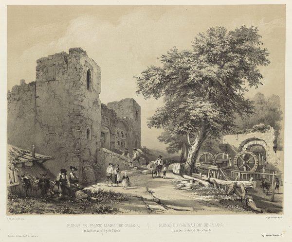 07_Ruinas del palacio llamado de Galiana en las Huertas del Rey de Toledo
