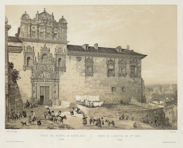 09_Puerta del Hospital de Santa Cruz en Toledo