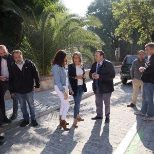 El Ayuntamiento arregla la plaza de Don Fernando con un nuevo pavimento y más espacio para el peatón