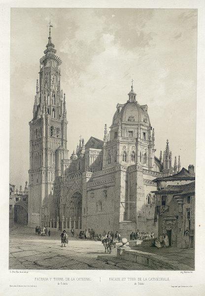 11_Fachada y torre de la Catedral de Toledo