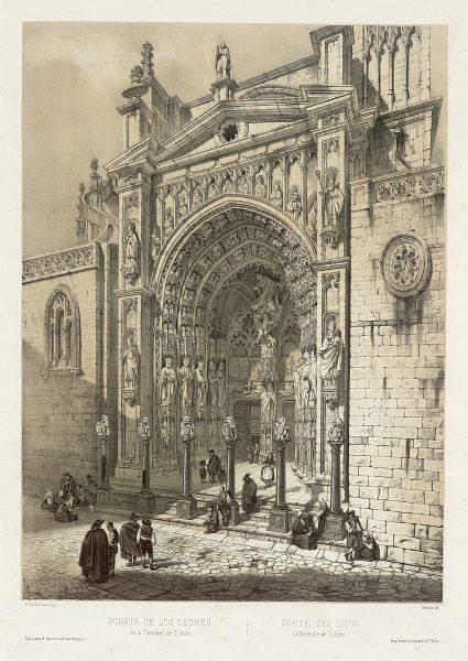 12_Puerta de los Leones en la Catedral de Toledo
