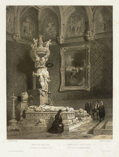 13_Capilla de San Blas en el Claustro de la Catedral de Toledo