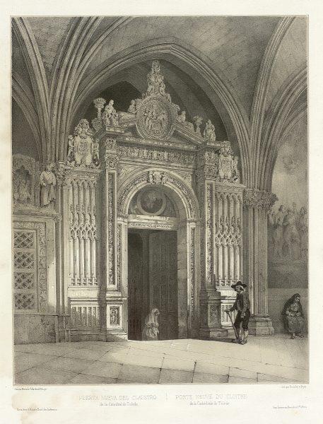 14_Puerta Nueva del claustro de la Catedral de Toledo