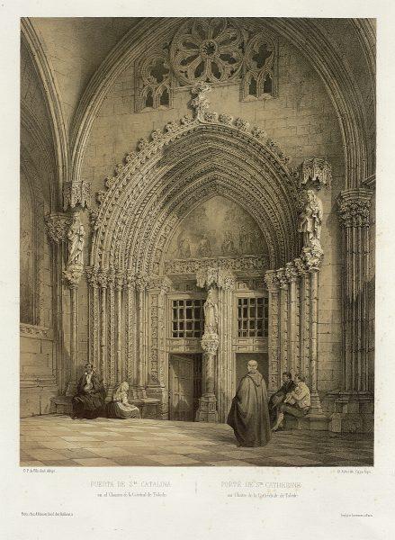 15_Puerta de Santa Catalina en el Claustro de la Catedral de Toledo
