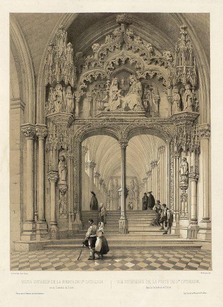 16_Vista interior de la Puerta de Santa Catalina en la Catedral de Toledo