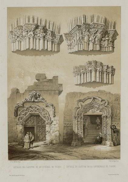 17_Detalles del Claustro de la Catedral de Toledo
